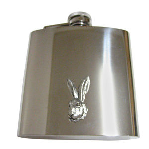 Hare Rabbit Large Flask